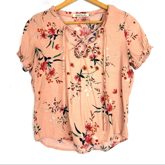 Liberty Love Tops - Liberty Love Blouse Top Size Small Floral T102